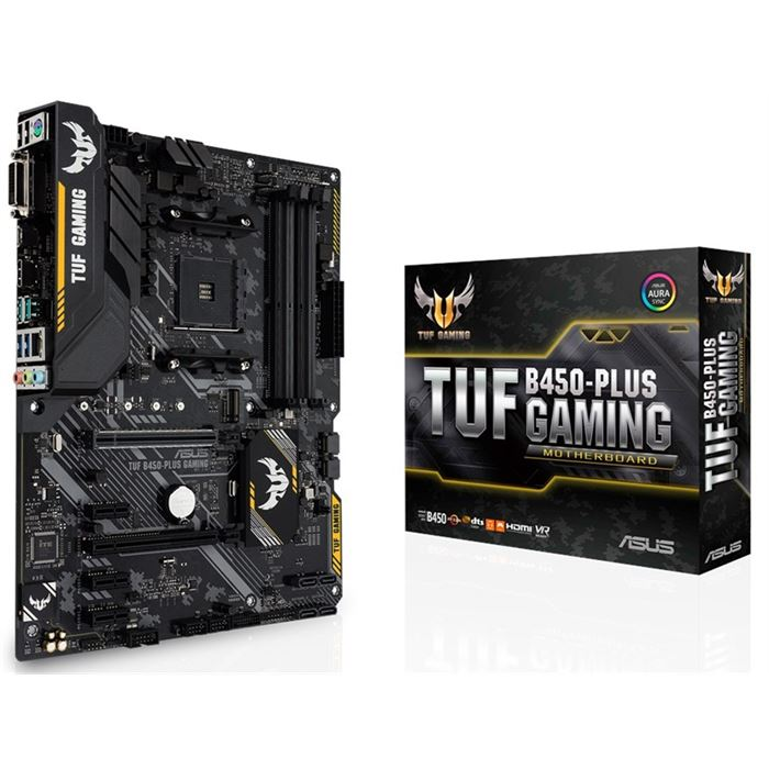 تصویر TUF B450-PLUS GAMING AM4 Motherboard